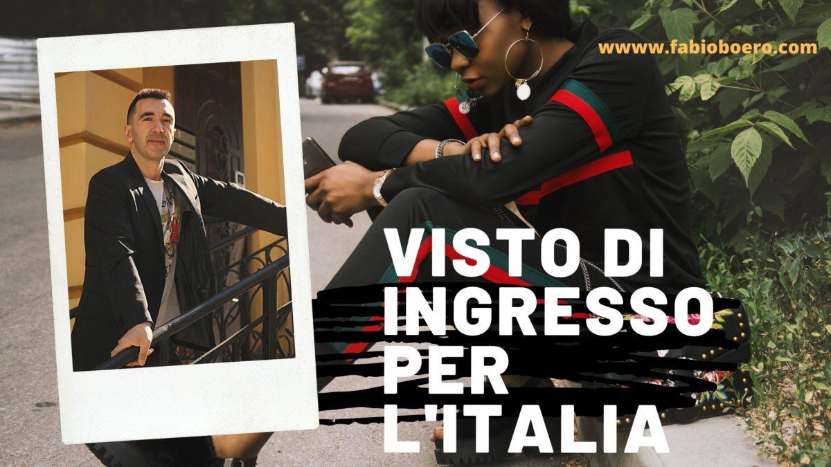 Visto turistico per l'Italia!Quale procedura per chiederlo?